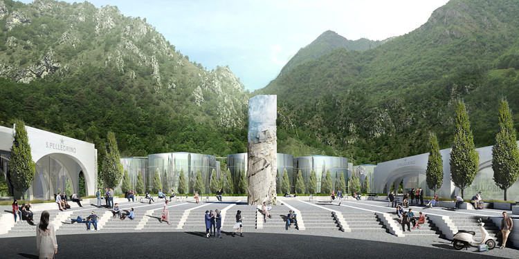 BIG Selected to Design San Pellegrino Factory and Headquarters in Northern Italy, © BIG