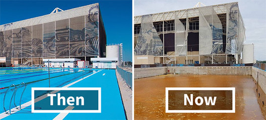 2016 Rio Olympic Sites, Six Months Later: Abandoned, Looted and Neglected, Via Bored Panda