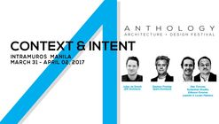 "Anthology Festival 2017: ""Context and Intent"""