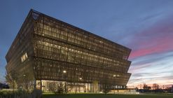 The Smithsonian National Museum of African American History & Culture Photographed by Brad Feinknopf