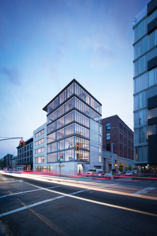 Tadao Ando's First NYC Residence Tops Out in Nolita, © The Boundary and Noë & Associates