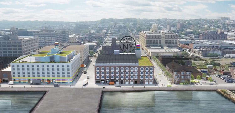 New York City Unveils Plans for New Fashion and Film Hub in Brooklyn, © WXY Architecture + Urban Design