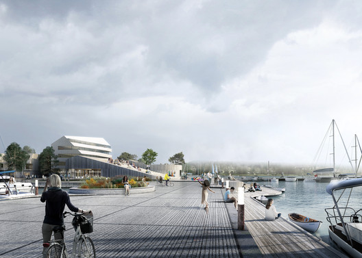 Schauman & Nordgren Architects? Winning Masterplan Envisages New Harbour Front Identity