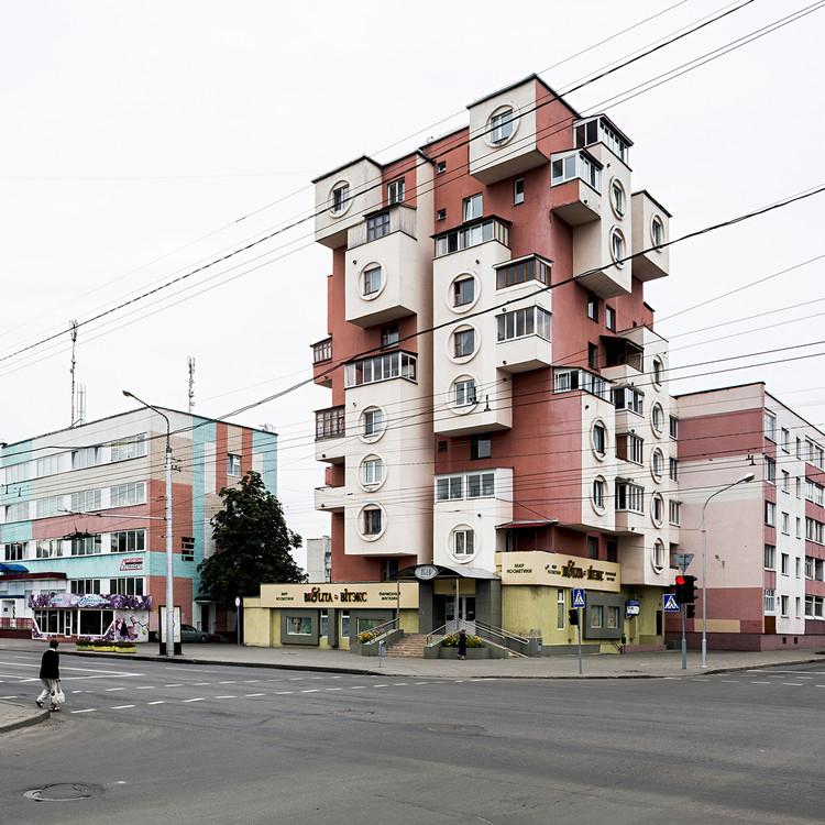 Dom Skvorechnik (Casa de pájaros), diseñado por el arquitecto Vladimir Galuschenko, 1980. Bobruisk, Bielorrusia. Imagen © Stefano Perego