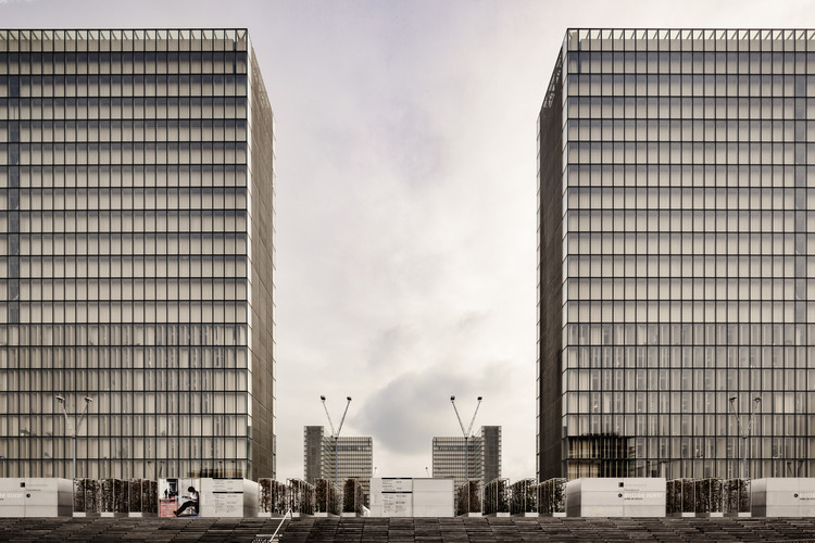 AD Classics: National Library of France / Dominique Perrault Architecture, © Davide Galli