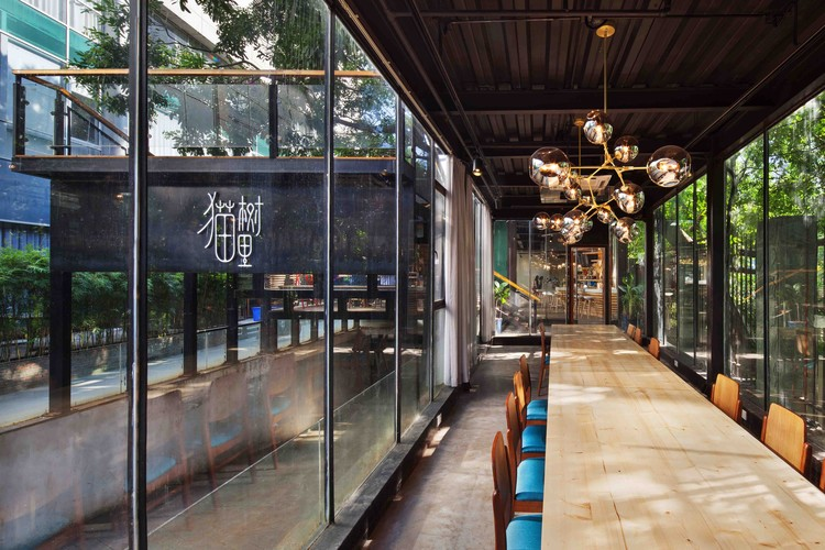 Shenzhen Maoshuli Cafe / Elsedesign, © Bai Yu