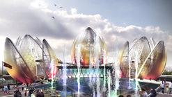 National Flower, Global Ambition - DeciBel Unveils the Hanoi Lotus Centre