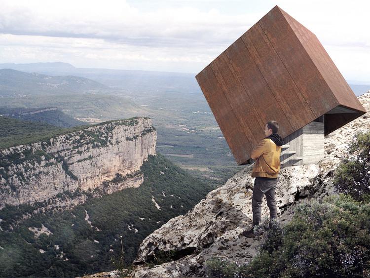 Tip-Box: el proyecto que se balancea entre el abismo y la naturaleza en Montpellier, © Christophe Benichou