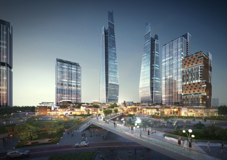 Woods Bagot Mixed-Use Project Named One of Shenzhen's Most Important of 2016, Courtesy of Woods Bagot
