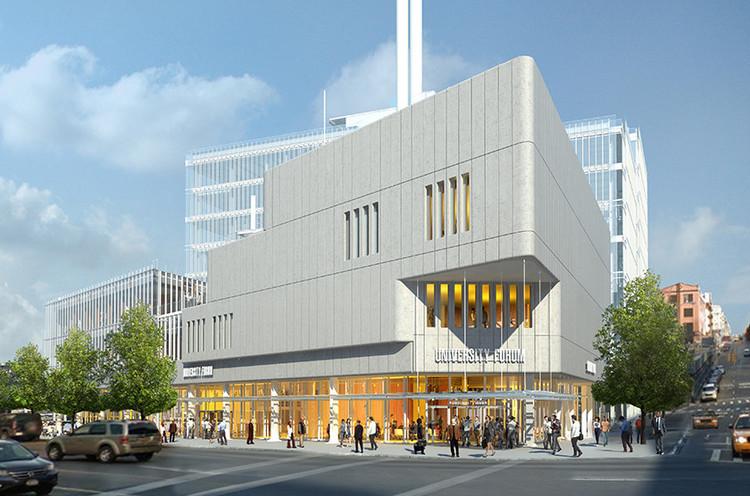 Avanza la construcción del nuevo proyecto de la Universidad de Columbia diseñado por Renzo Piano, vía Harlem + Bespoke