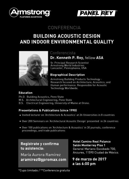 Conferencia de kenneth p roy 39 building acoustic design for Indoor environmental quality design