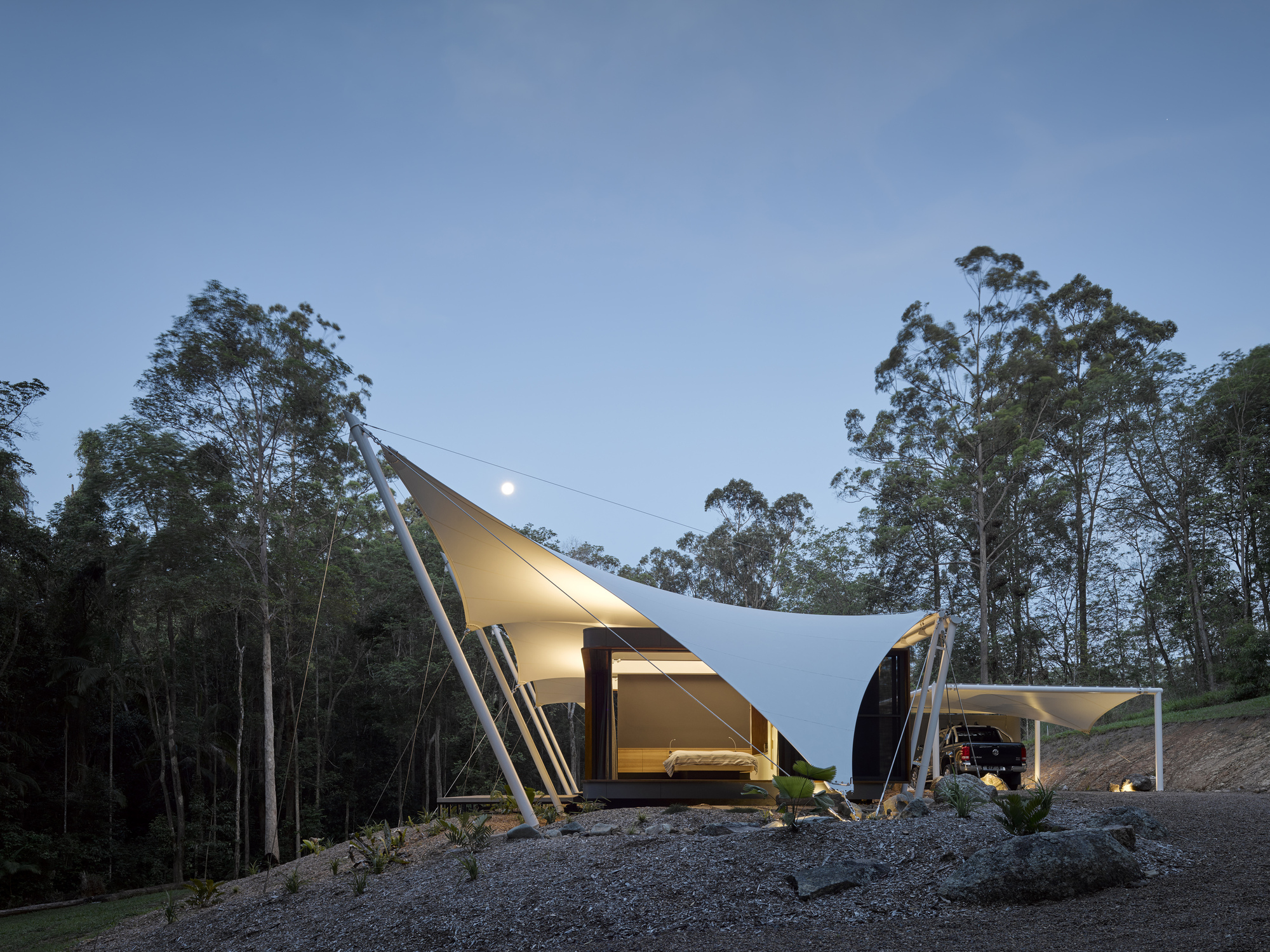 Tent House Sparks Architects Archdaily