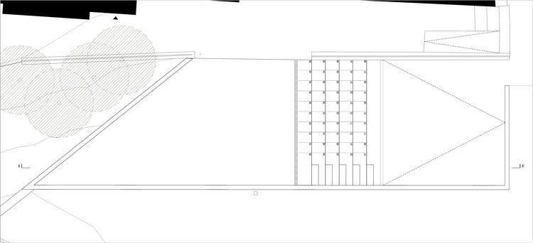 Prodac Norte - Anfiteatro - Planta