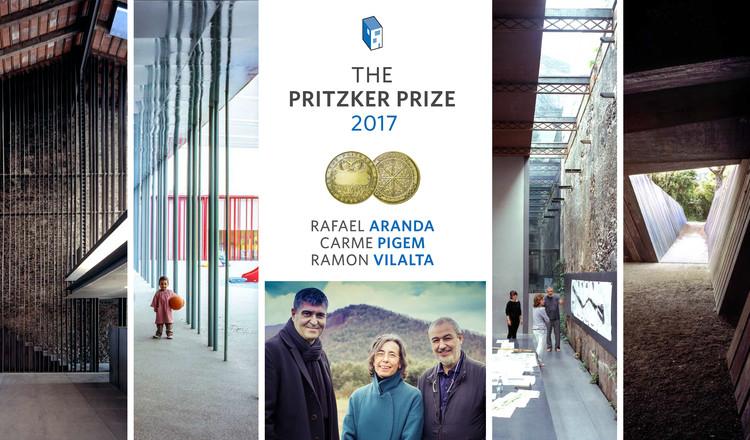 Rafael Aranda, Carme Pigem and Ramon Vilalta Named 2017 Pritzker Prize Laureates