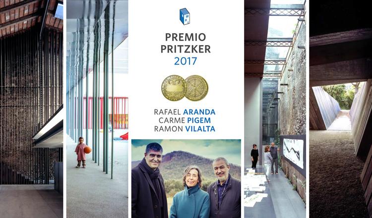 Rafael Aranda, Carme Pigem y Ramon Vilalta, ganadores del Premio Pritzker 2017