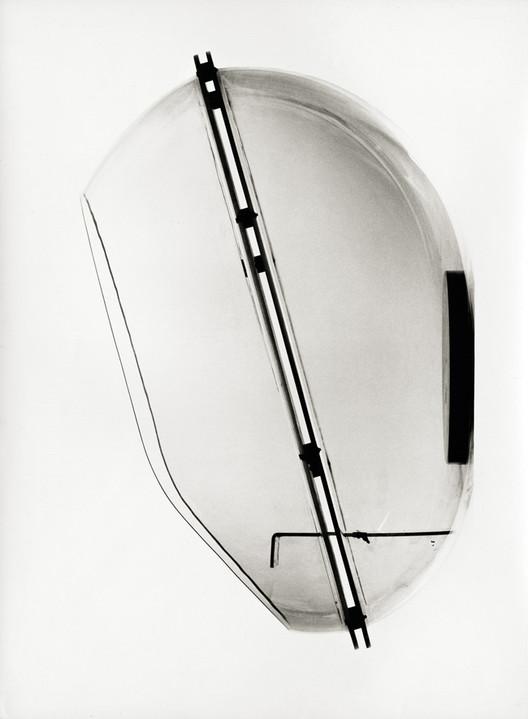 Telephone Hood. Image Courtesy of Museum of Architecture & Design, Ljubljana
