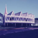 """New Khmer Architecture and Japan"" Explores the Link Between Cambodian and Japanese Modernism Picture of the Chaktomuk Conference Hall taken by Japanese expert Masao Ishihara (ca. 1964). Image Courtesy of Masaaki Iwamoto"