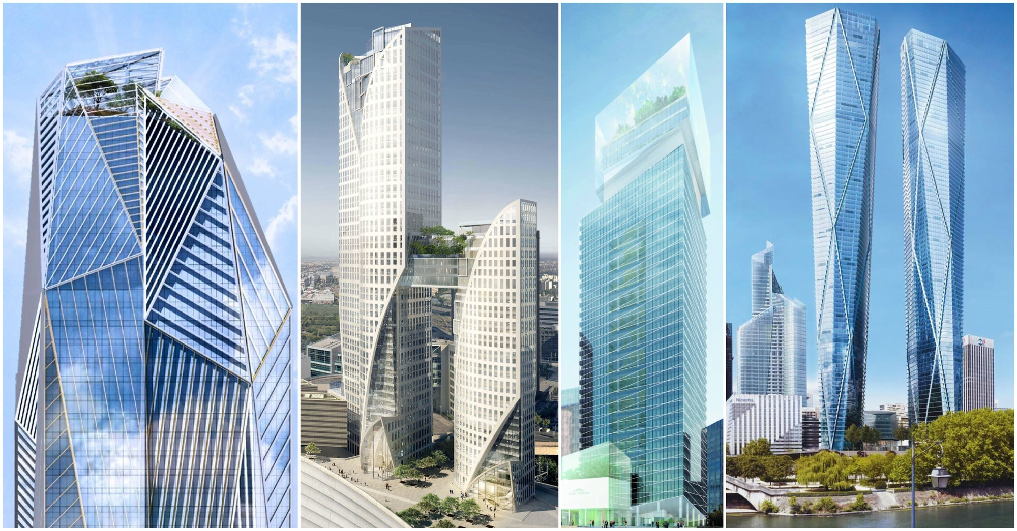 Jean nouvel foster partners among 7 architects to for Design paris