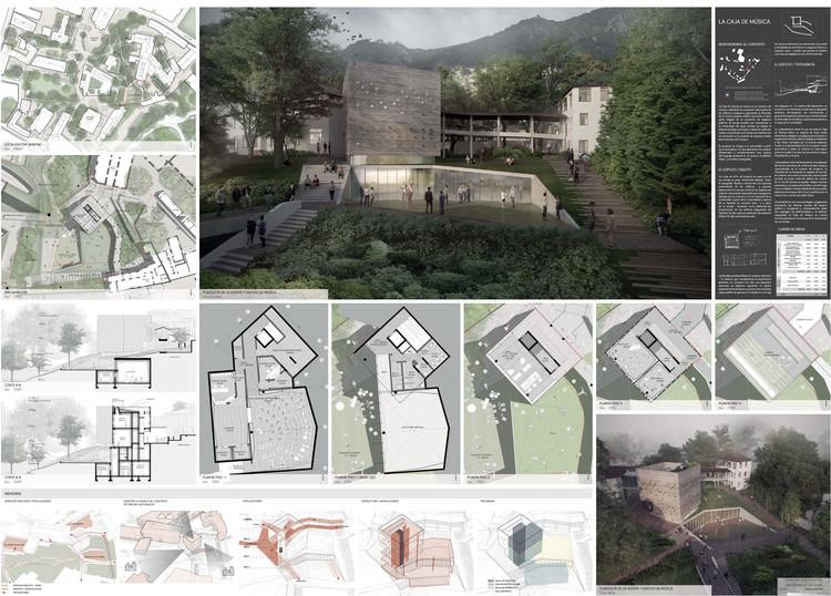 Finalista: Arquitectura en Estudio. Image Cortesía de Universidad de Los Andes
