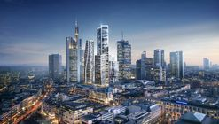 UNStudio Wins Competition for Landmark Mixed-Use Development in Frankfurt