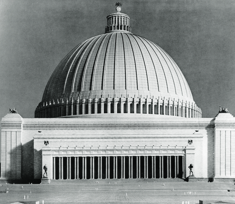 "The Unbuilt Nazi Pantheon: Unpacking Albert Speer's ""Volkshalle"", Ullstein Bild/Getty Images. Image Courtesy of Laurence King Publishing"