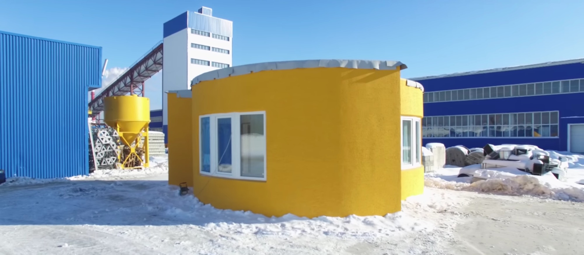 Build your own 3d printed house all in one day archdaily for 3d house builder online