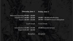 Symposium: [UN]timely Aesthetics