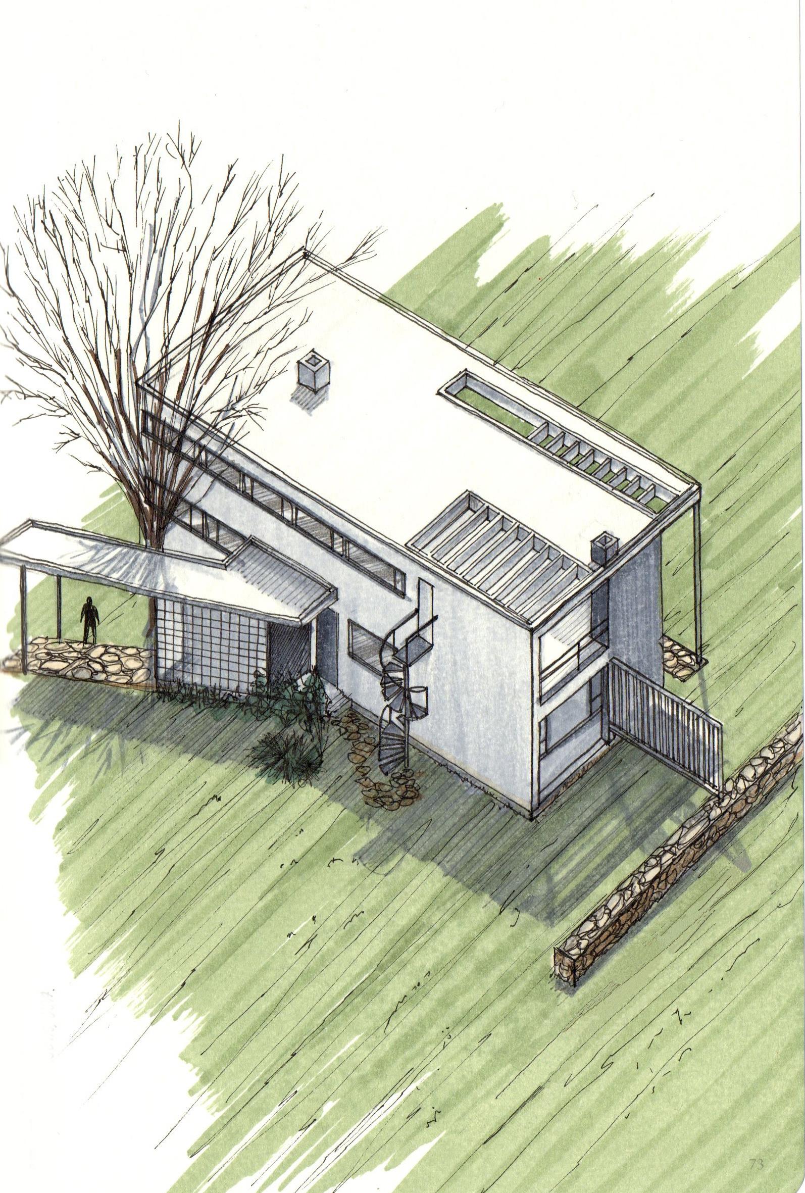 Gropius house 3d model