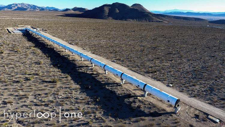 "Trilho de testes do ""Hyperloop One"" está próximo de ser concluído, © Hyperloop One"