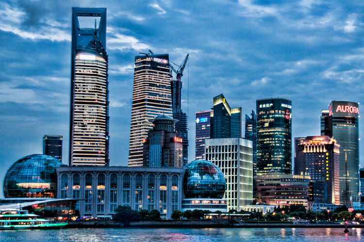 Energy demands from a recent skyscraper boom in China has led to energy controls on millions of inhabitants © Flickr user obscurepixels. Licensed under CC BY-ND 2.0