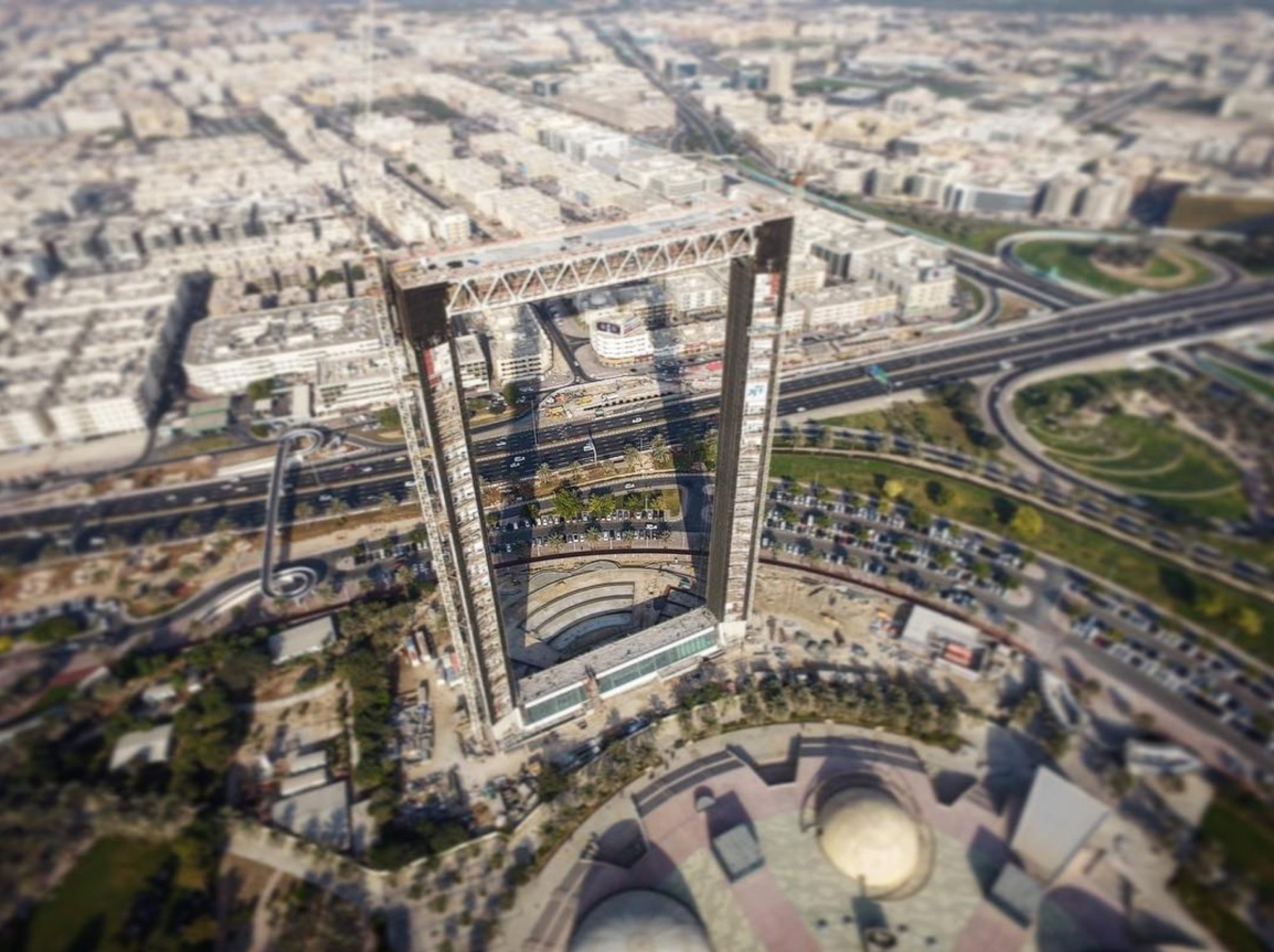 dubai frame approaches completion amid allegations of stolen