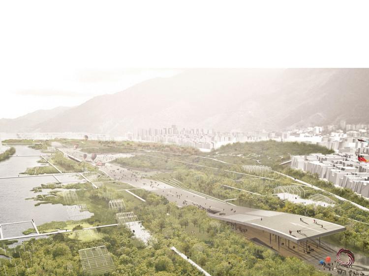 Aeropuerto La Carlota / Latitud (Caracas, Venezuela). Image Cortesía de Landscape as Urbanism in the Americas