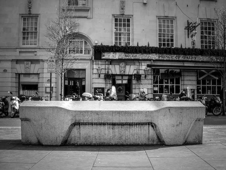 Camden bench, London. Image Courtesy of James Furzer
