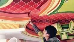 Freddy Mamani dicta curso gratuito de pintura en Bolivia