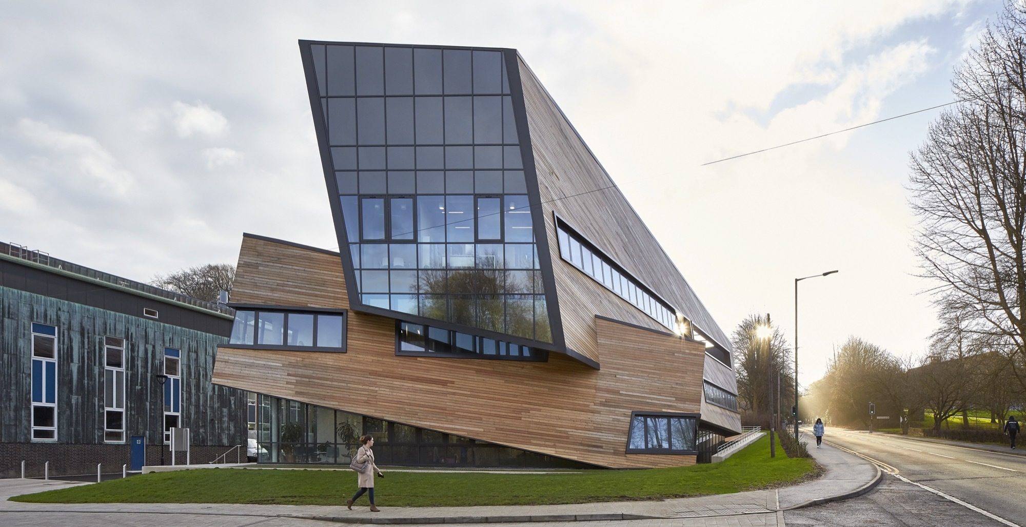 Gallery of ogden centre studio libeskind 1 for Daniel libeskind architectural style