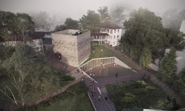 Arquitectura en Estudio, finalista del nuevo edificio de prácticas musicales de Universidad de Los Andes, Cortesía de Arquitectura en Estudio
