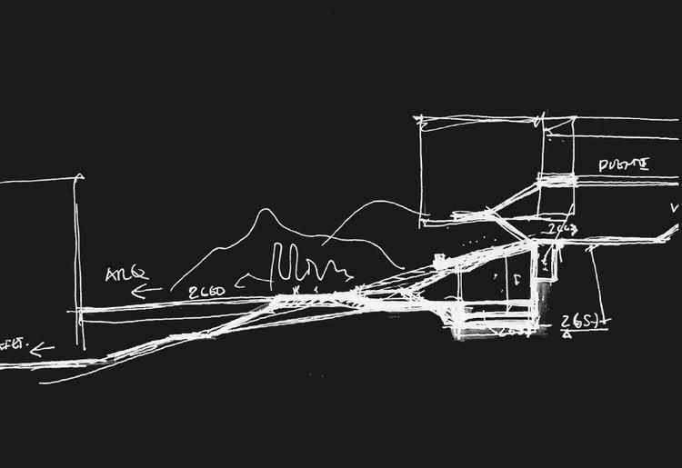 Croquis. Image Cortesía de Arquitectura en Estudio