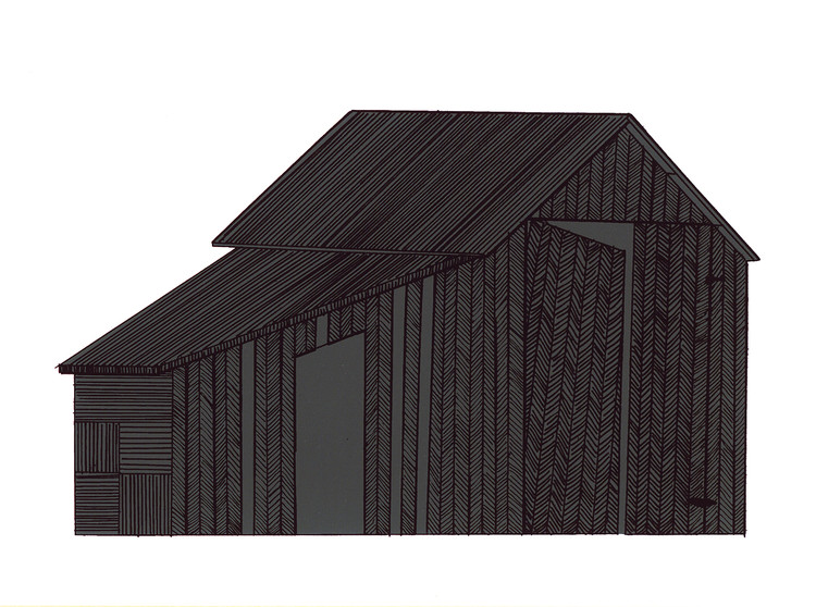 The Humble Vernacular of the Undecorated Shed, © John Redington