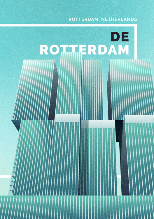 De Rotterdam, Netherlands. Image Courtesy of GoCompare