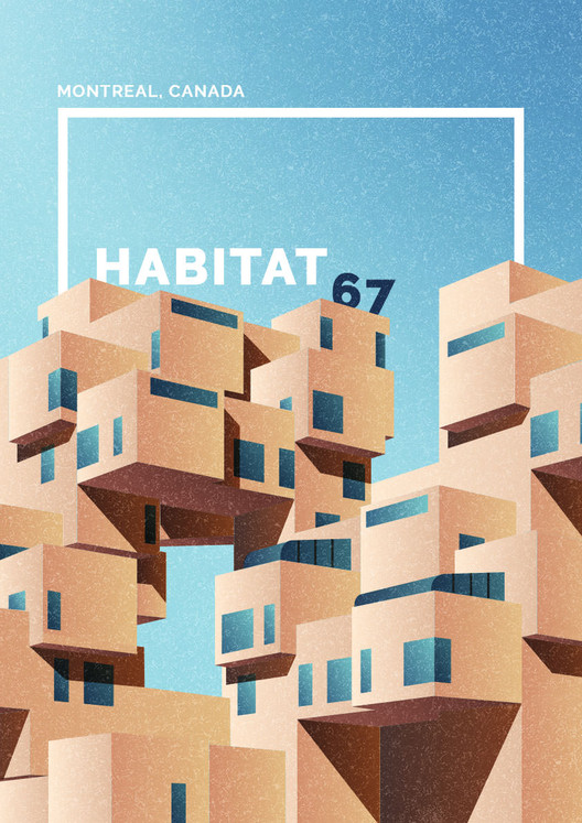 Habitat 67, Montreal, Canada. Image Courtesy of GoCompare