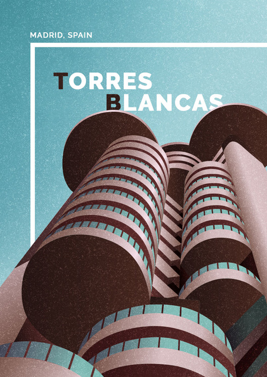 Torres Blancas, Madrid, Spain. Image Courtesy of GoCompare