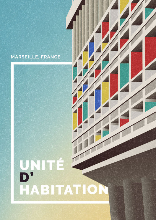 Unite D'Habitation, Marseille, France. Image Courtesy of GoCompare
