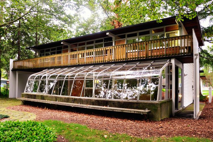 Uma desconhecida residência projetada por Eames, © Victor Delaqua