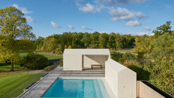 Parquet Patterned Pool and Spa / Claesson Koivisto Rune