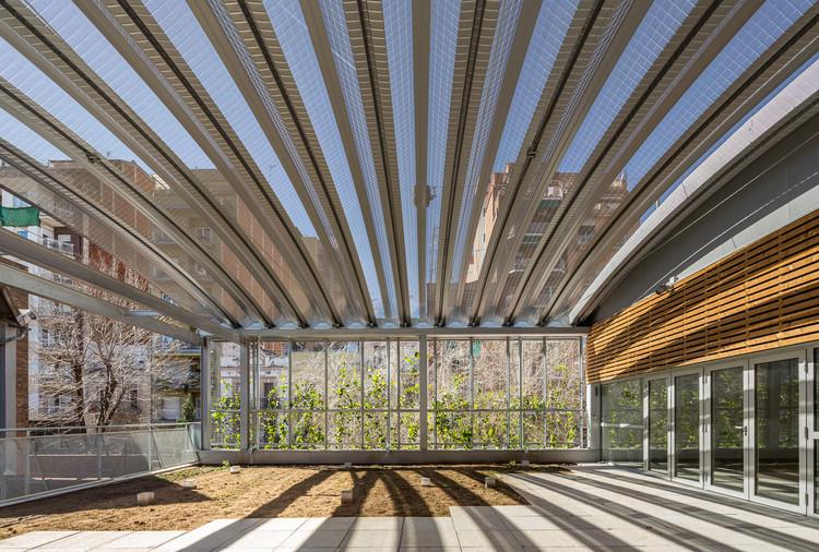 Ampliación Centro Cívico Joan Oliver - Pere Quart / Pich-Aguilera Arquitectes, © Simon Garcia