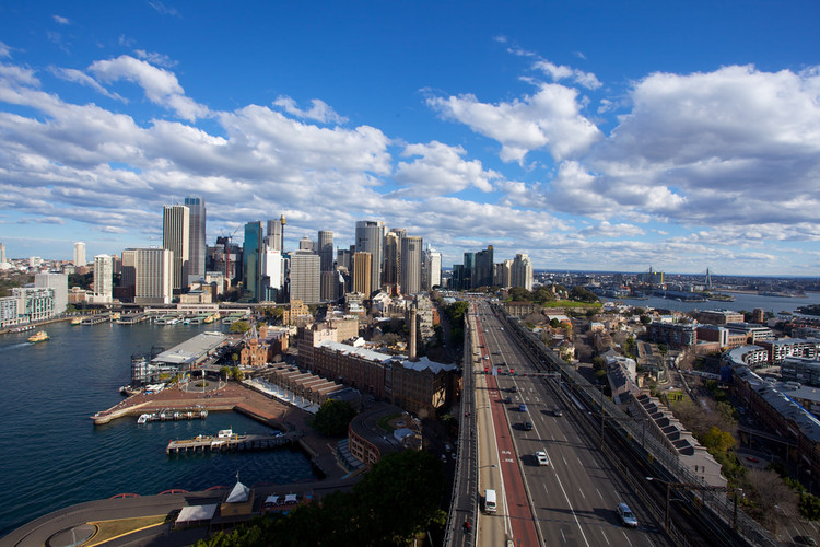 Sydney, Austrália. Image © BRJ INC./Flickr. Cortesia de The CityFix Brasil