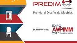 Convocatoria abierta para el Premio al Diseño de Muebles PREDIM 2017
