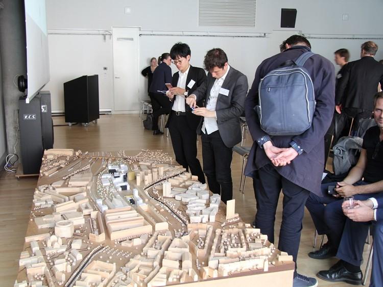 El ganador fue anunciado el 17 de marzo en un evento en elAarhus School of Architecture. Imagen vía Arkitektskolan Aarhus