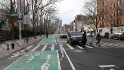Nueva York pudo hacer que esta calle sea más segura con este proyecto de redistribución vial