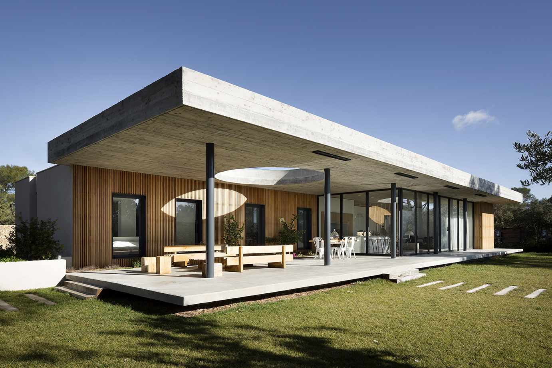 gallery of maison pascual architecte 8. Black Bedroom Furniture Sets. Home Design Ideas